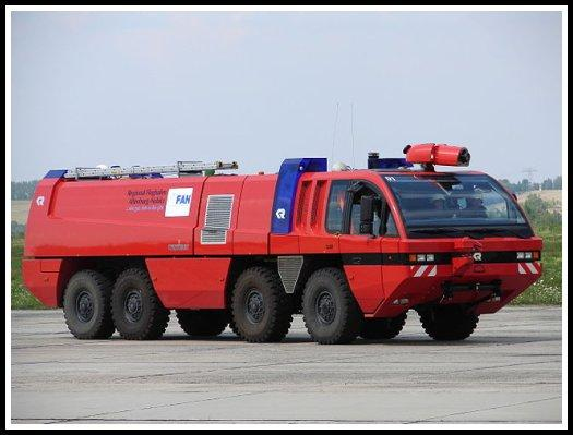 FLF Panther airport crash tender in Germany