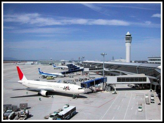 Gates at Nagoya-Chūbu Centrair International Airport